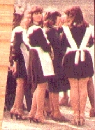 group of maids